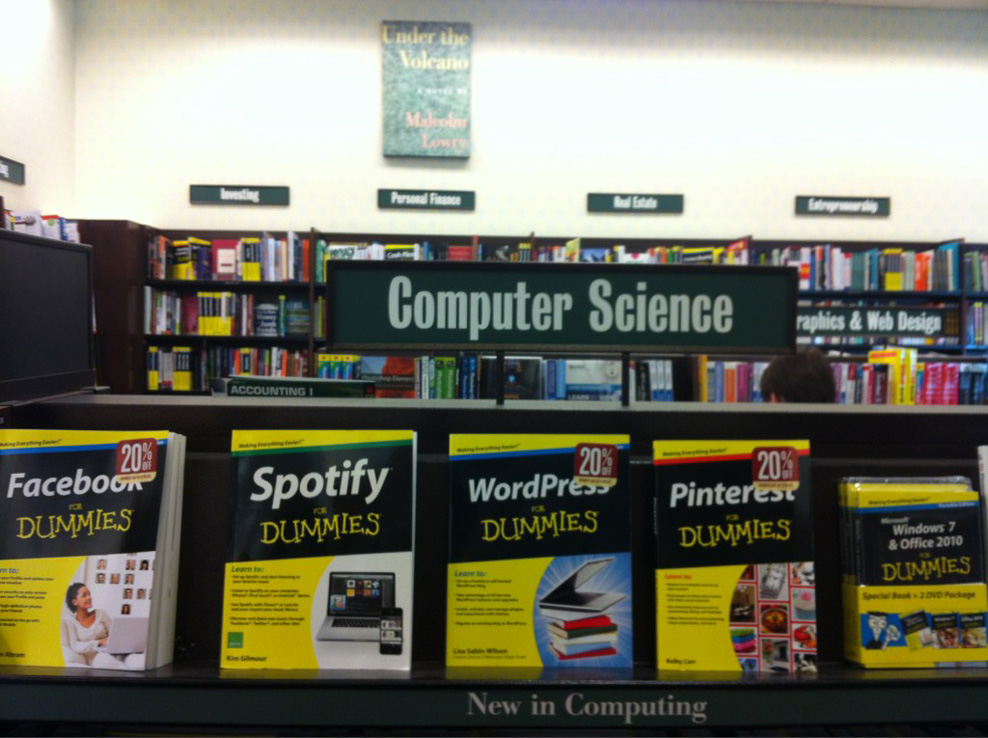 computer science for dummies